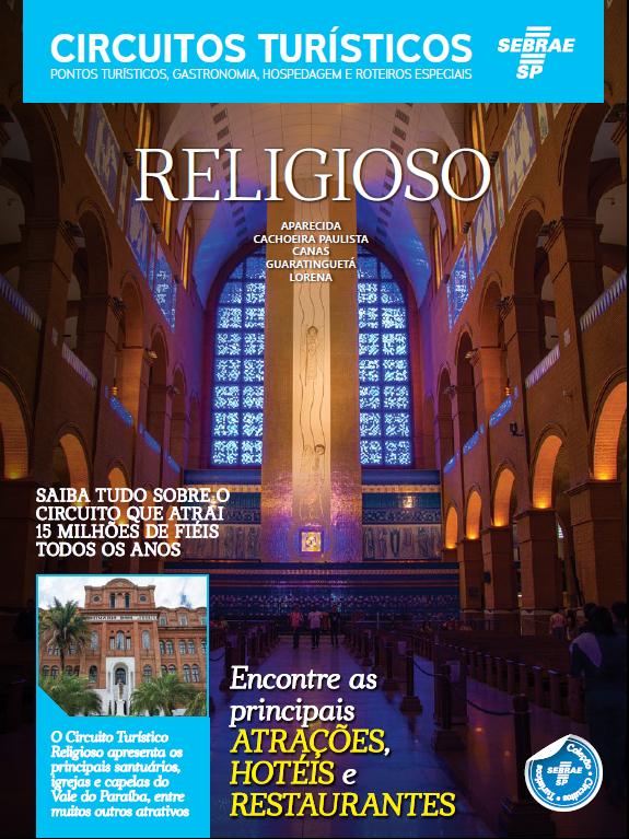 Catálogo Sebrae Circuito Turístico Religioso