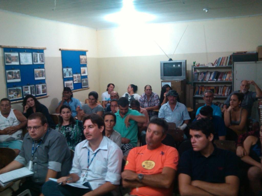 1º Seminário de Monitoria de Trilhas do Gomeral - Reunião de Trabalho